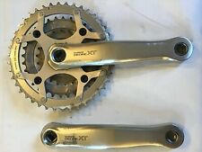 Shimano Deore XT Crankset m739 172.5mm Length 8 Speed