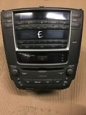 LEXUS IS220D IS250 RADIO STEREO CD PLAYER MP3 HEAD UNIT 6 DISC CD 86120-53370