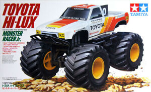 Tamiya 1/32 Toyota Hi-Lux Monster Racer Junior With Electric Motor  #5115966