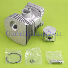 42mm (HIGH)CYLINDER PISTON KIT WITH RINGS PIN CLIPS For HUSQVARNA 340 345 NEW
