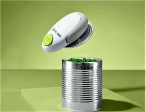 One Touch  Vollautomatischer Dosenöffner inkl.Batterie weiß-grün NEU