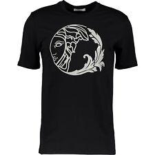 "39% OFF Genuine Versace Black ""Caviar"" T-shirt XL 100% cotton"