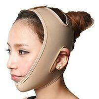 Comfortable Wrinkle Removing Chin Strap w/ Breathable Compression (L)