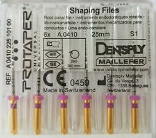 Dental Dentsply Rotary ProTaper Universal Engine NiTi Files 25 mm S1