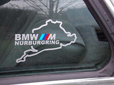 2 x nurburgring bmw m-TEC performance nurburgring pegatinas e60 e90 e30 e36 e46