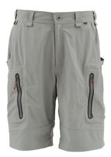 Simms ARAPAIMA Shorts ~ Mineral NEW ~ Size 32W ~ CLOSEOUT