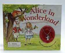 Alice in Wonderland, by Lewis Carroll (with charm to wear)- Hardcover
