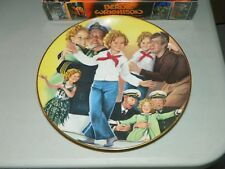 Shirley Temple Collection Captain January Collector Plate New-With Postcard