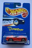 1991 Hotwheels Dodge Viper RT/10 RT 10 Red Vintage! Mint! Very Rare!