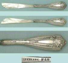 Antique Sterling Silver Handled Mother of Pearl Letter Opener * Circa 1900s