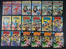 Run of (18) Freedom Fighters (1976-78) #2-13 DC Comics Store Stock