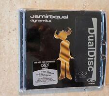 JAMIROQUAI DYNAMITE DUALDISC CD & DVD + FREE SHIPPING