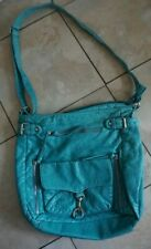 Bueno Crossbody Bags Of California Triple Zip faux leather Turquoise