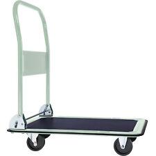 More details for folding platform truck warehouse cart picking sack trolley transport cart 150kg