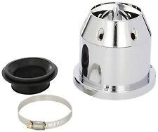 Sumex Plata Cromo Universal Filtro De Aire Kit De Inducción De Coche Clásico con adaptadores