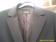 JAEGER SIZE 14 WOMENS PINSTRIPED JACKET