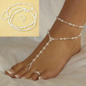 Fashion Ankle Bracelet Women Gold Silver Plated Anklet Foot Jewelry Chain Beach