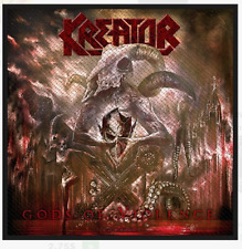 KREATOR - GODS OF VIOLENCE - WOVEN PATCH - BRAND NEW - MUSIC BAND 2885