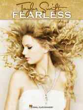 """""""Taylor Swift-Fearless"""" Easy Piano Music Book 13 Songs Brand New On Sale!"""