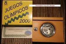 1999 1000 PESETAS -  JUEGOS OLIMPICOS 2000  - PLATA - ESPAÑA