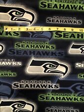 """Seattle Seahawks 100% Cotton Fabric Dot - Sold By 1/2 Yard 18"""" x 46"""""""