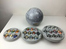 Mighty Beanz - Death Star Container and Assorted Beanz - Han Solo -
