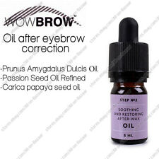 NEW! Wow brown Oil after eyebrow correction