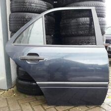 Mercedes W202 C-Klasse Tür Hinten Rechts 189 Smaragdschwarz Beifahrerseite