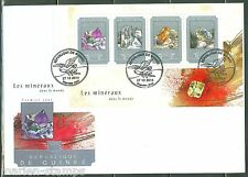 GUINEA 2014 MINERALS  SHEET FIRST DAY COVER