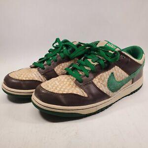 Nike Dunk Low 6.0 Overcast Hemp Pine Green Size 12 314142-331 Rare limited SB