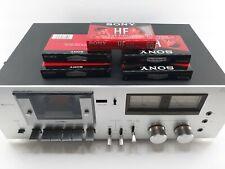 Rare Vintage Philips 5171 High-End Cassette Tape Deck Player & 5 new cassettes