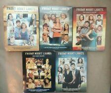 Friday Night Lights Seasons 1-5 (Complete Series) on DVD 3 NEW /  2 Used