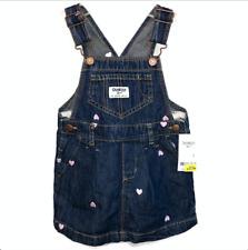 OshKosh Bgosh Baby Girl 24 M Vestbak Denim Jumper Dress...