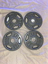 NEW Cap Barbell 2.5 LB Weight Plates (SET OF 4) Dumbbell Standard FAST SHIPPING