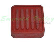 Classic Mini RED Clutch or Brake Pedal Rubber Pad Morris, Austin Mini Cooper