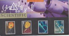 GB 1991 SCIENTIFIC ACHIEVEMENTS PRESENTATION PACK 216 SG1546 1549 MINT STAMP SET
