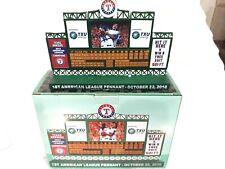 Texas Rangers First American League Pennant Scoreboard Replica 2010