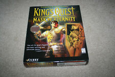 King's Quest Mask of Eternity CD (1998) Sierra PC Big Box Game Complete G911