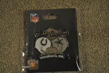 Dallas Cowboys VS Indianapolis Colts December 16, 2018 Game Day Pin NEW