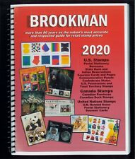 2020 Brookman Price Guide US Canada UN Stamps Catalogue Spiral Bound 334 pages