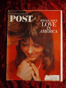 Saturday Evening POST Magazine December 31 1966 LOVE in AMERICA