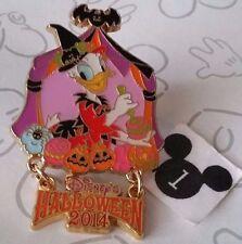 Daisy Duck Witch Halloween 2014 Tokyo Disneyland TDR Dangle Disney Pin 106471