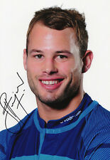Francois Hougaard, South Africa rugby, Blue Bulls, signed 10x8 inch photo. COA.