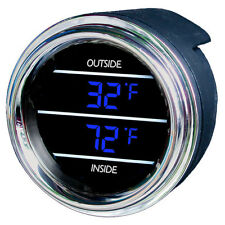 Inside Outside Auto Thermometer Gauge for Kenworth 2006+, Teltek Brand