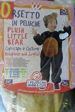 CARNEVALE WIDMANN COSTUME ORSETTO IN PELUCHE PLUSH LITTLE BEAR  L  ART 36250