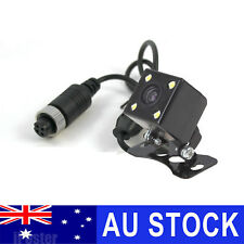 4PIN Mini Size Car Caravan SUV Trailer Rear View Reversing Camera COMS 4 LEDs HD