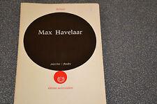 Max Havelaar Multatuli Editions universitaires (E3)