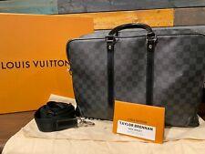 Louis Vuitton Porte-Documents Voyage GM Damier Graphite Business Laptop Bag (N41