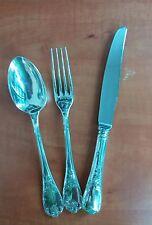 "Christofle ""Marly"" cucchiaio forchetta coltello lega d'argento"