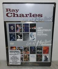 2 DVD RAY CHARLES - LIVE AT MONTREUX 1997 - NUOVO NEW